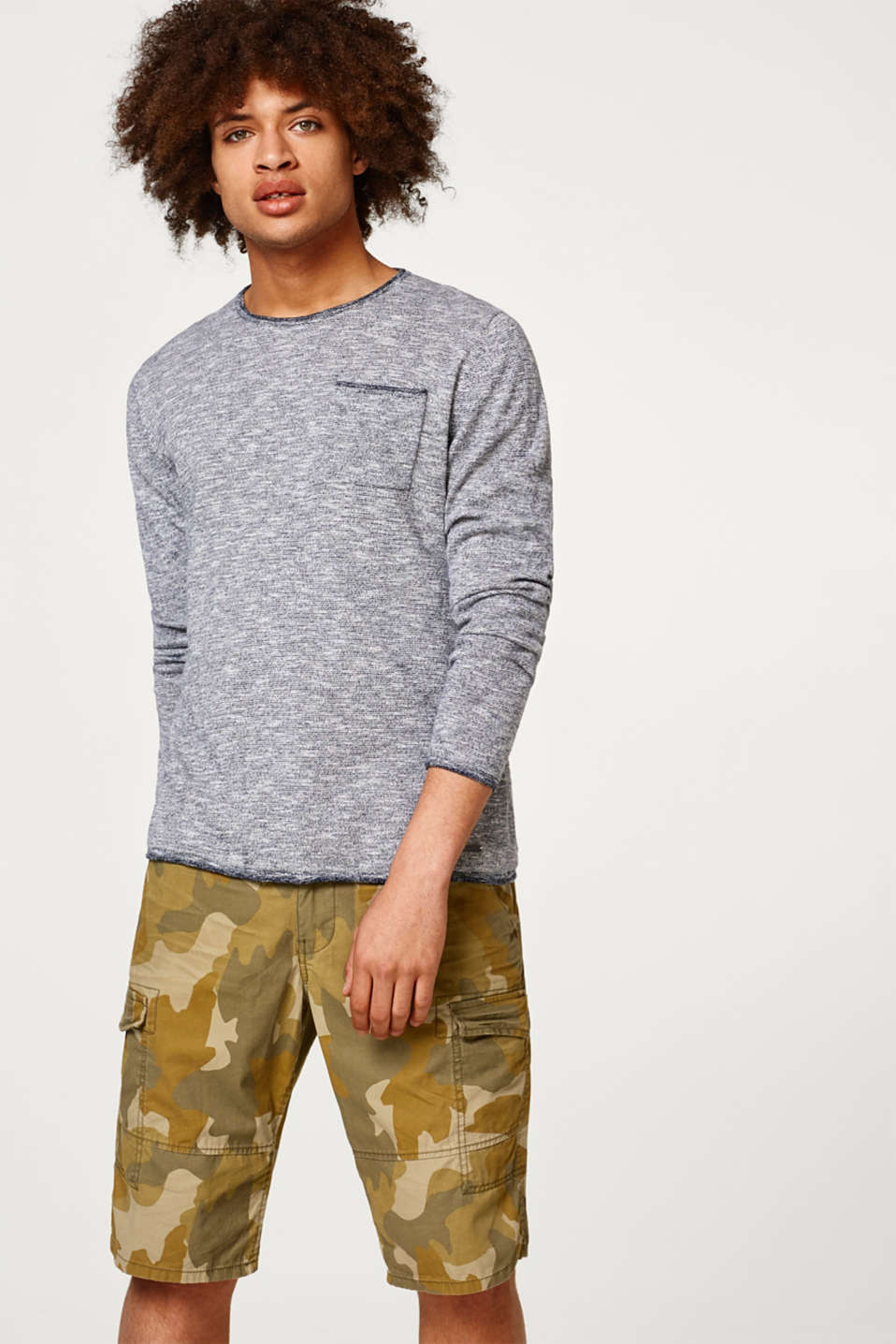 edc - Sporty cotton jumper
