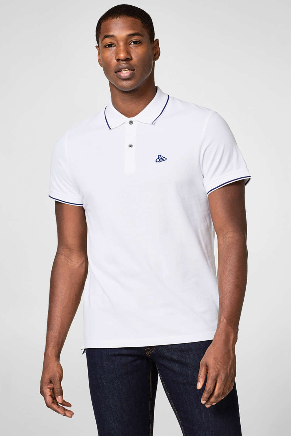 edc - tipping polo t-shirt