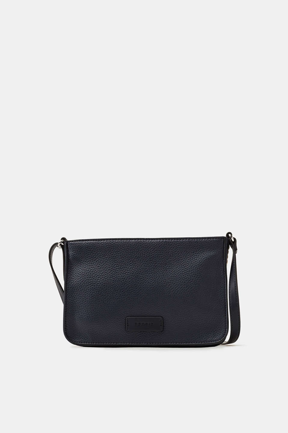 Esprit - Flat shoulder bag in faux leather