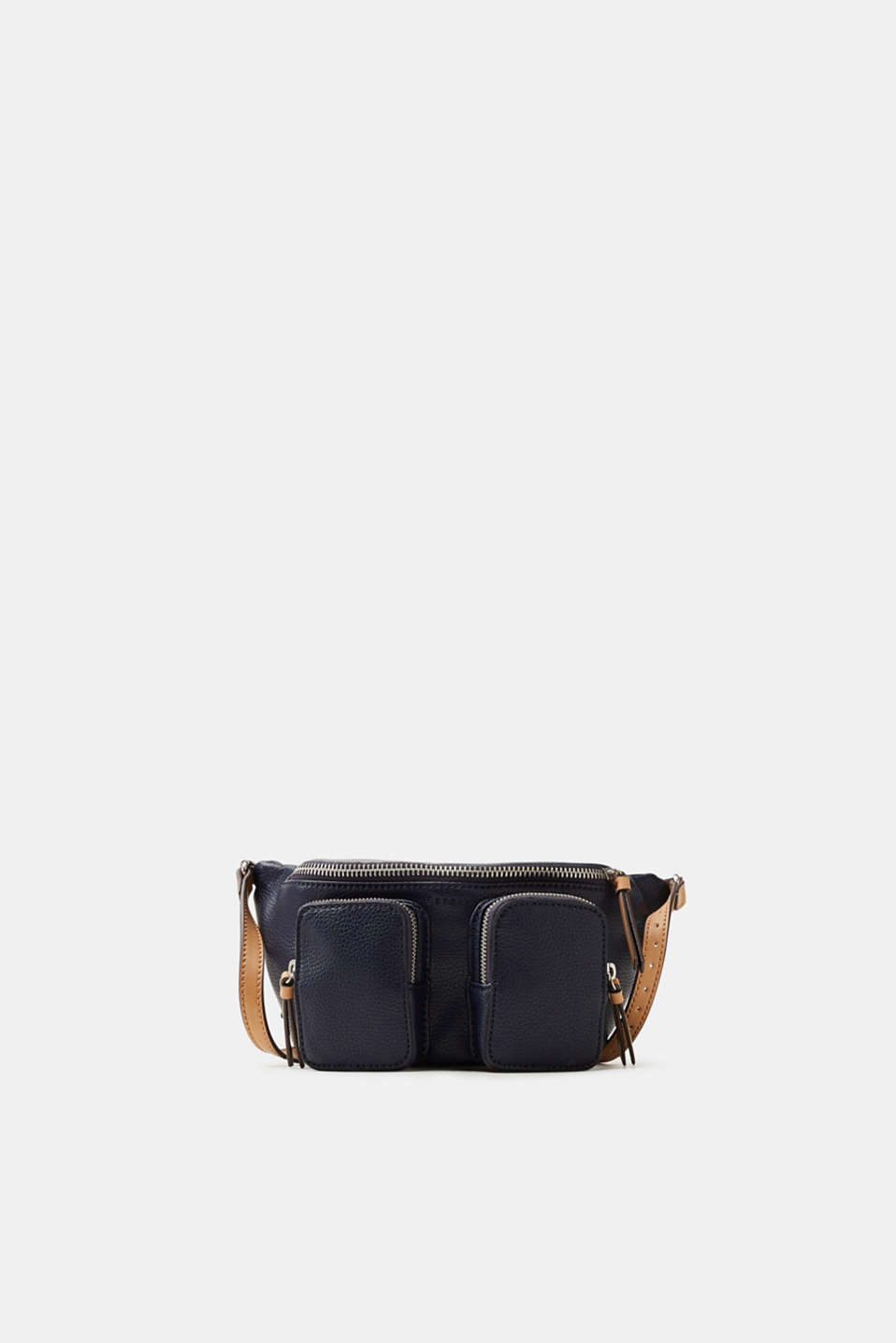 Esprit - Hip pack in grained faux leather