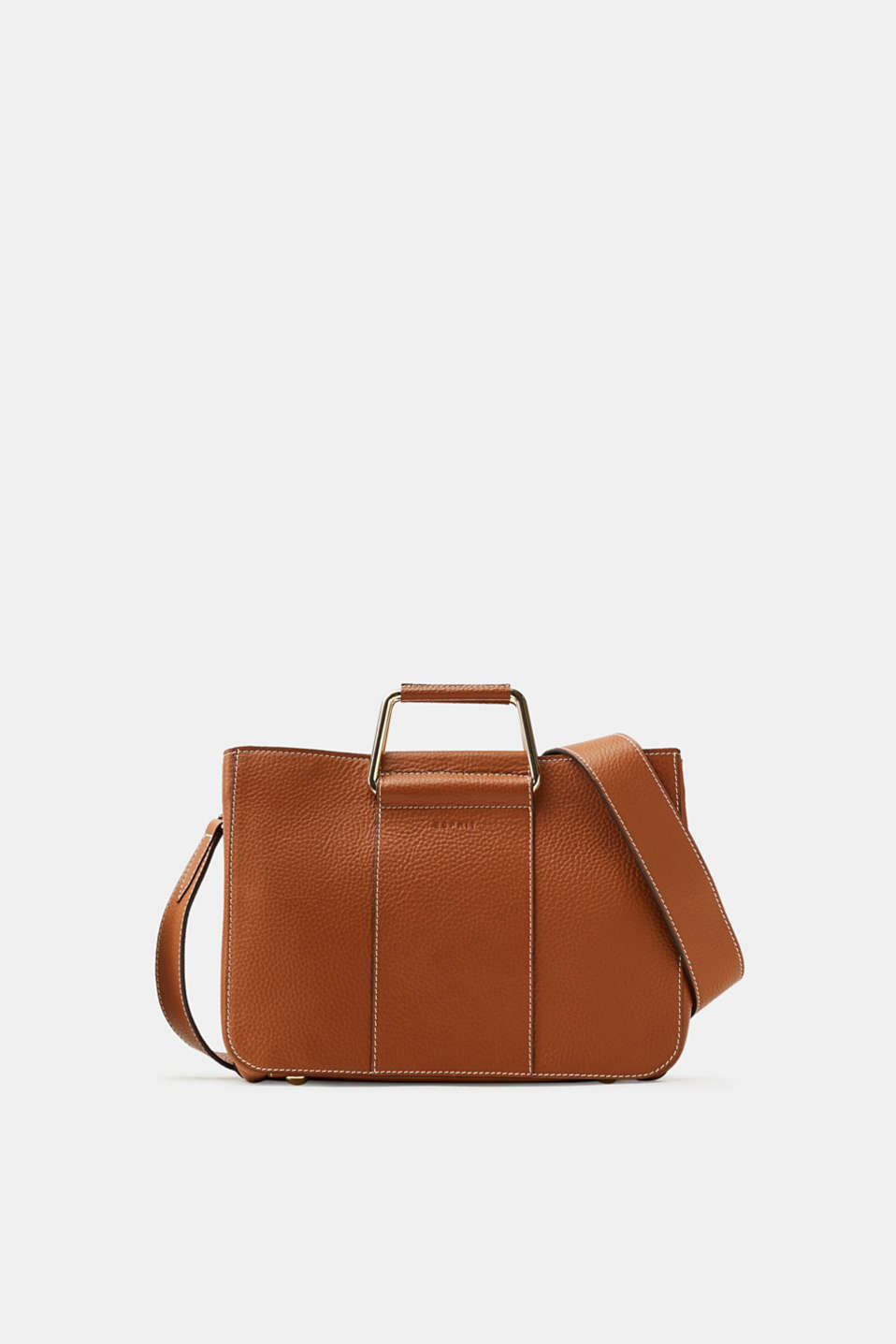 Esprit - City bag made of finely grained leather
