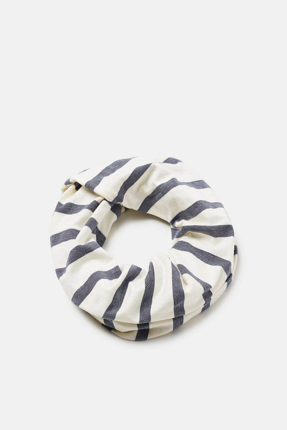 Esprit - Snood with nautical stripes