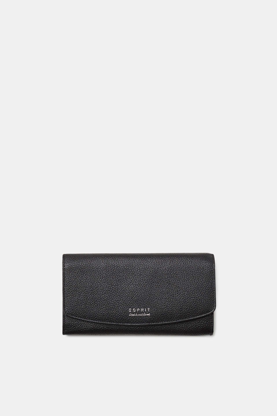 Esprit - Purse in a waiter-style format, in leather