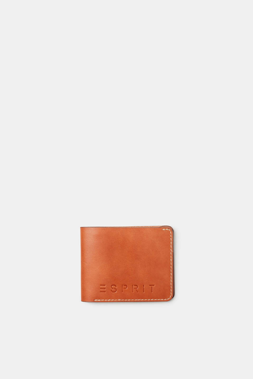 This wallet is a practical accessory thanks to its bold embossed logo and compact shape.
