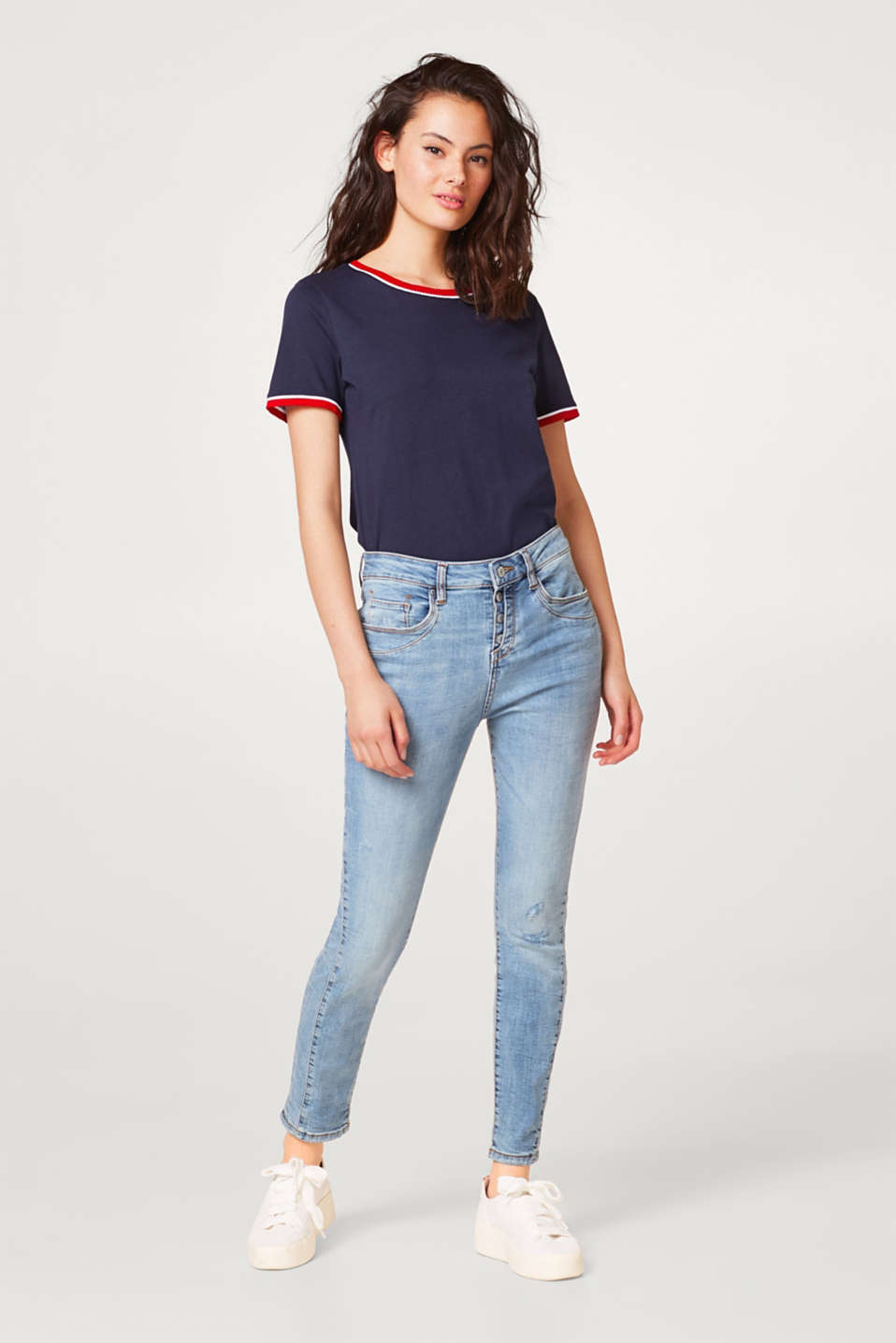 Esprit - Jean stretch au look usé