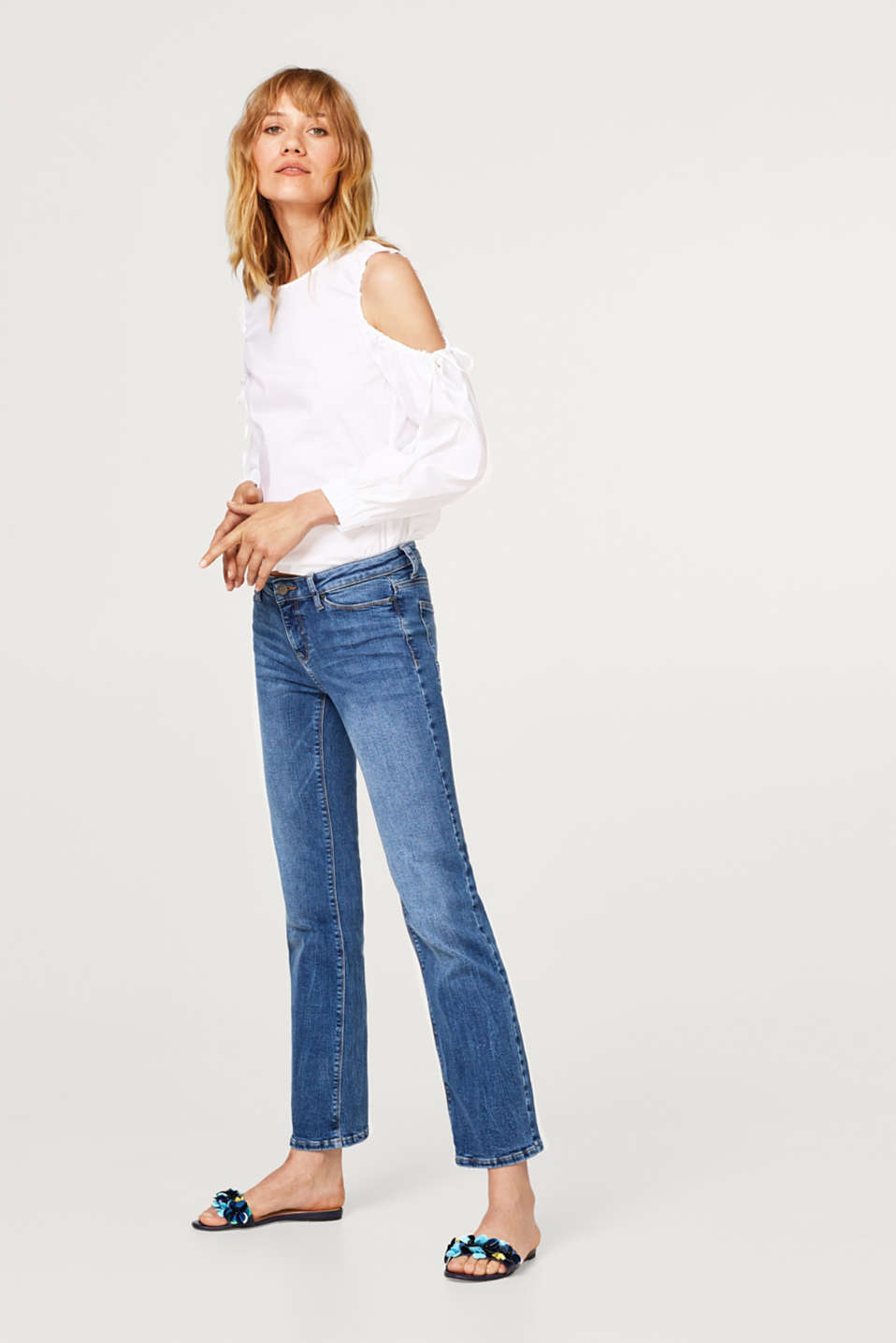 Esprit - Bootcut style super stretch jeans