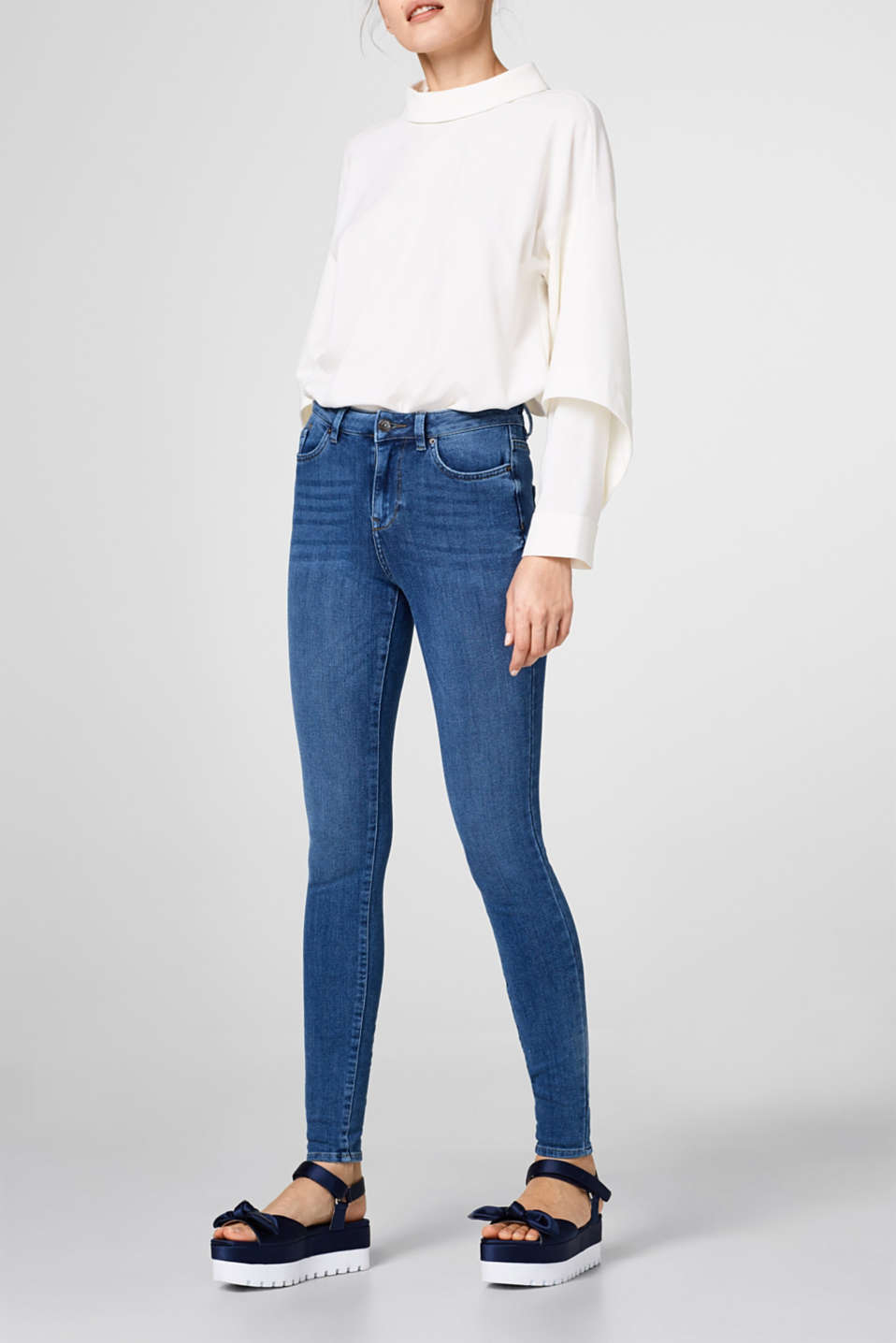 Esprit - Shaping-Jeans mit 4-way-Stretch