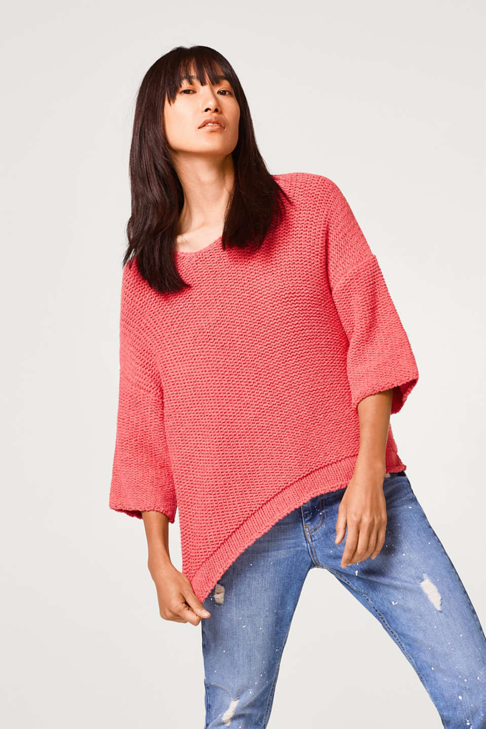 Esprit - Oversized chunky knit jumper
