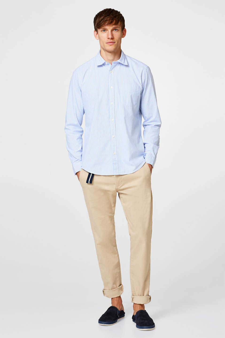 Esprit - Lightweight Oxford shirt in cotton