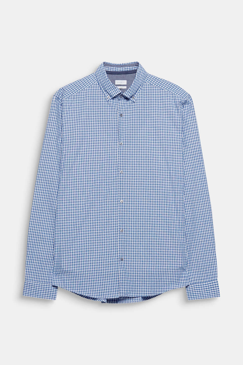The tartan pattern gives this shirt a casual look. Perfect for urban street looks.