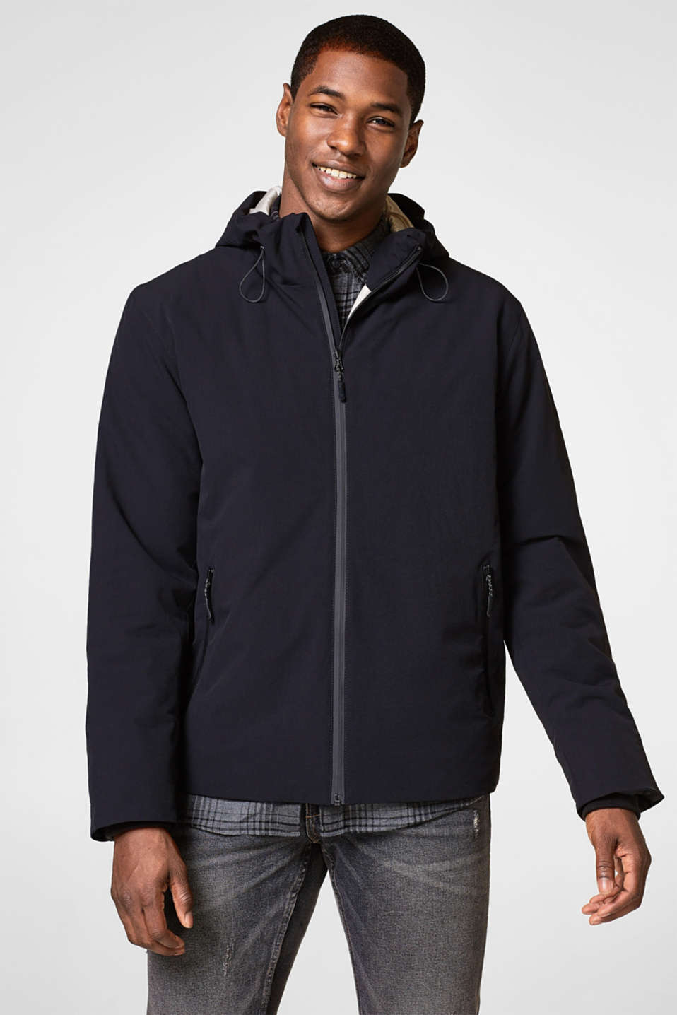 Esprit - Functional blended nylon jacket