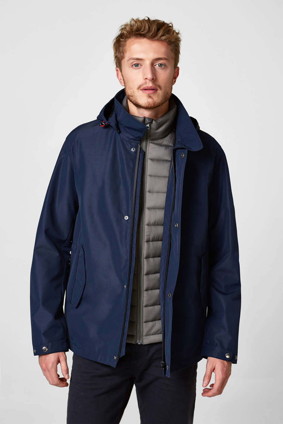 Esprit - 2-in-1 outdoor jacket