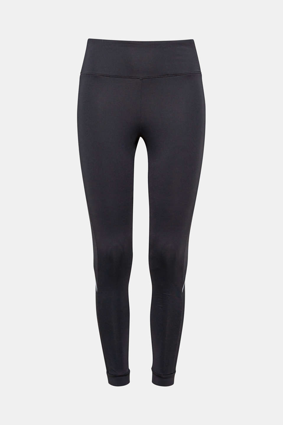 Be active: with these close-fitting stretch jersey trousers with side mesh inserts and E-DRY technology!