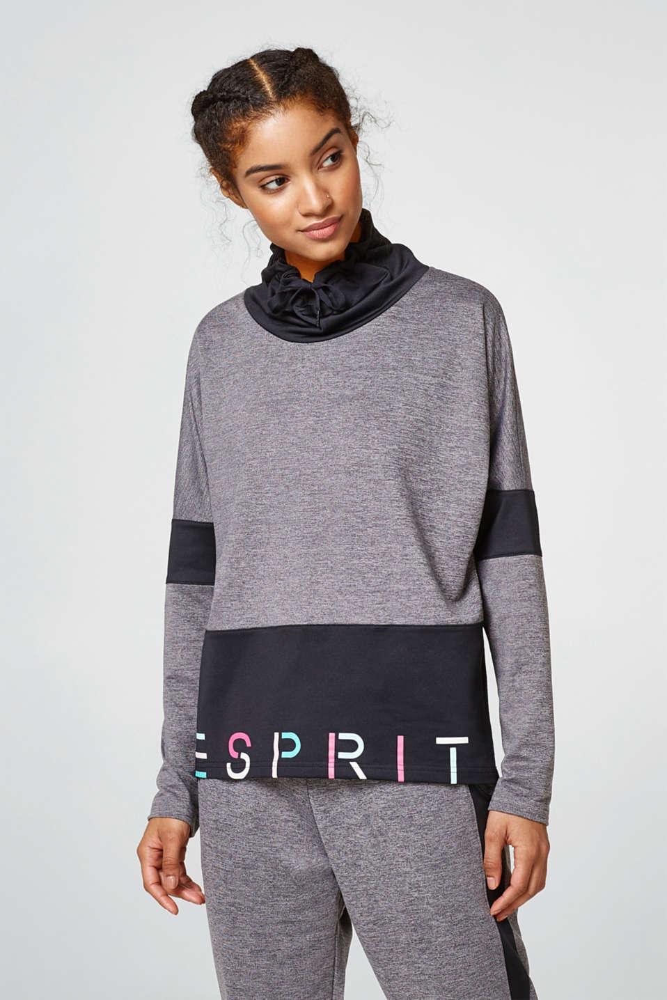 Esprit – Melírovaná mikina 5fc5fff002