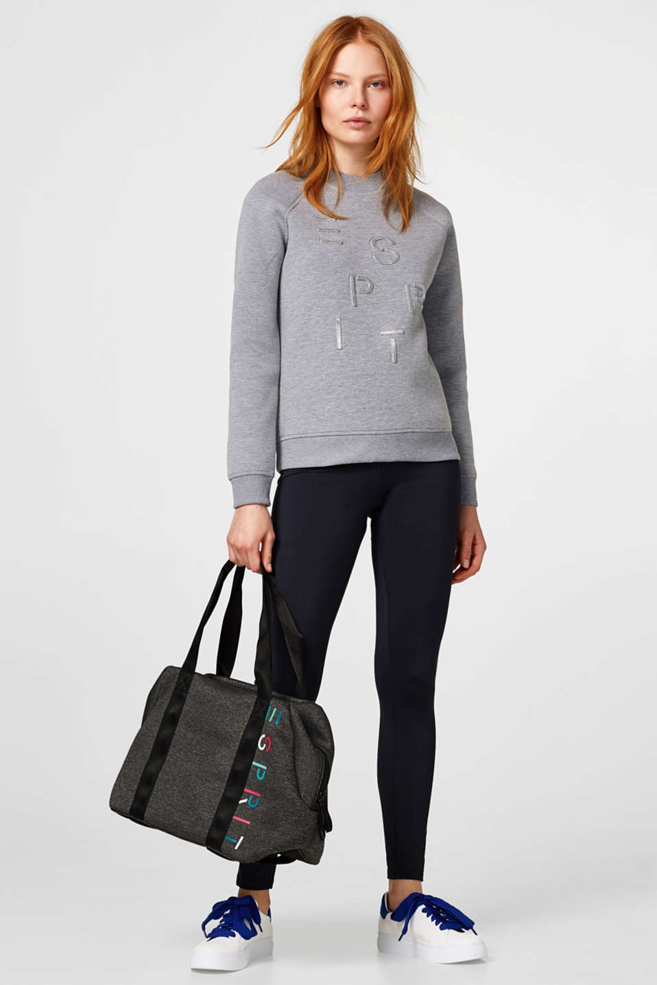 Hold-all bag in firm jersey