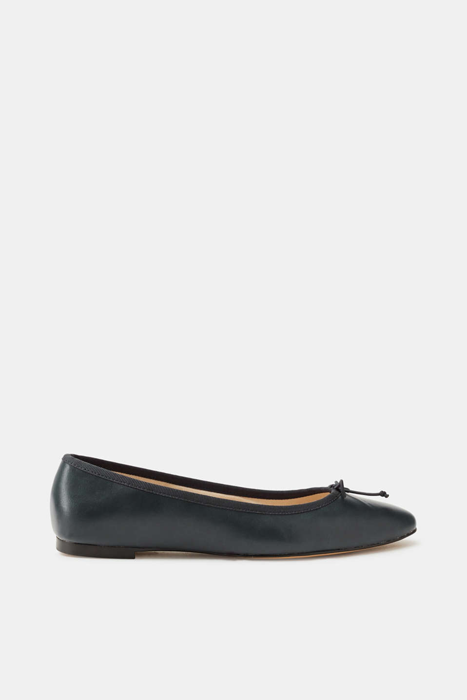 Esprit - Smooth faux leather ballerinas