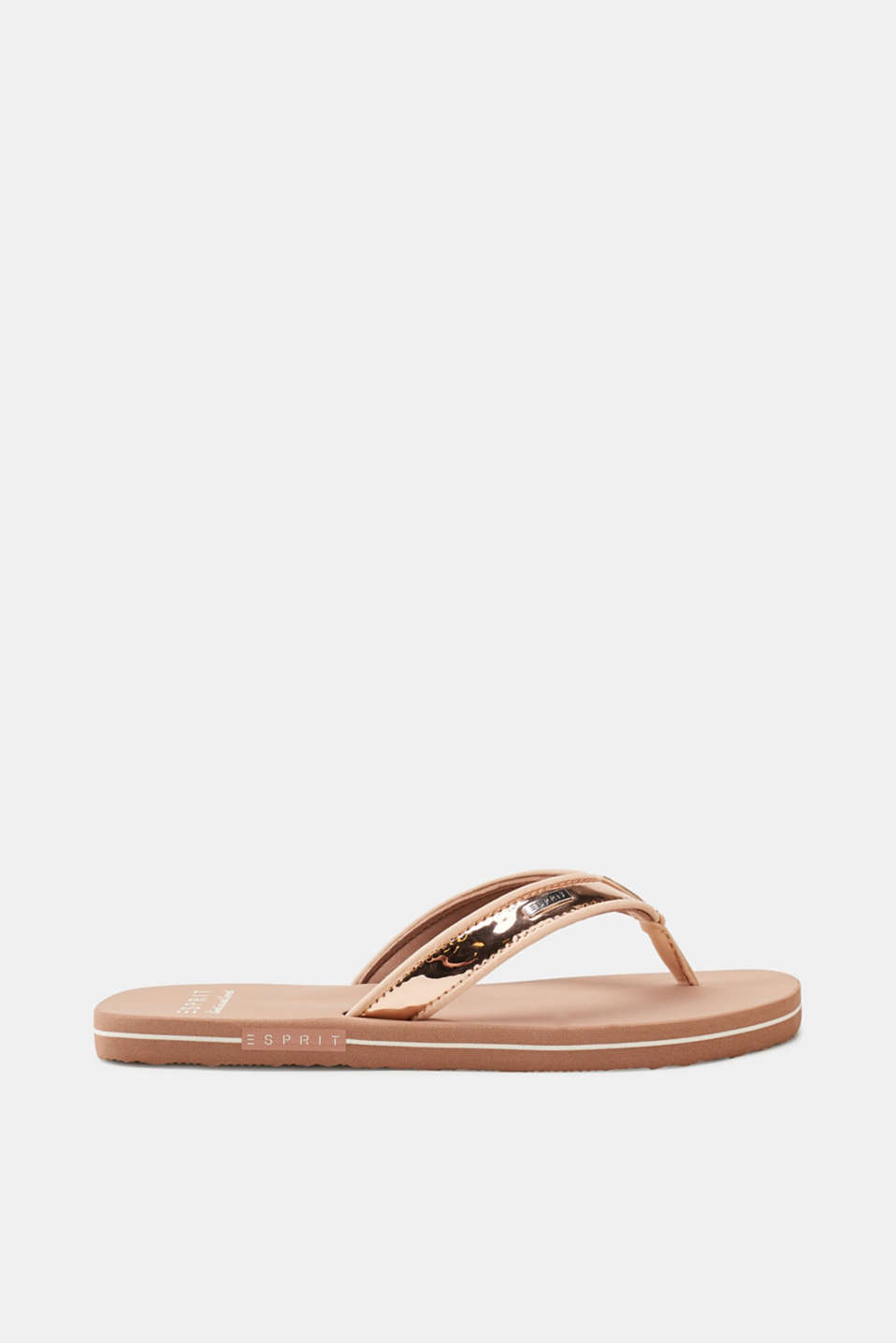 Esprit - Slip slops with lack straps