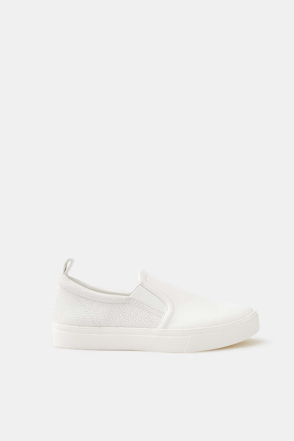 Esprit - Slip On-Sneaker in Leder-Optik