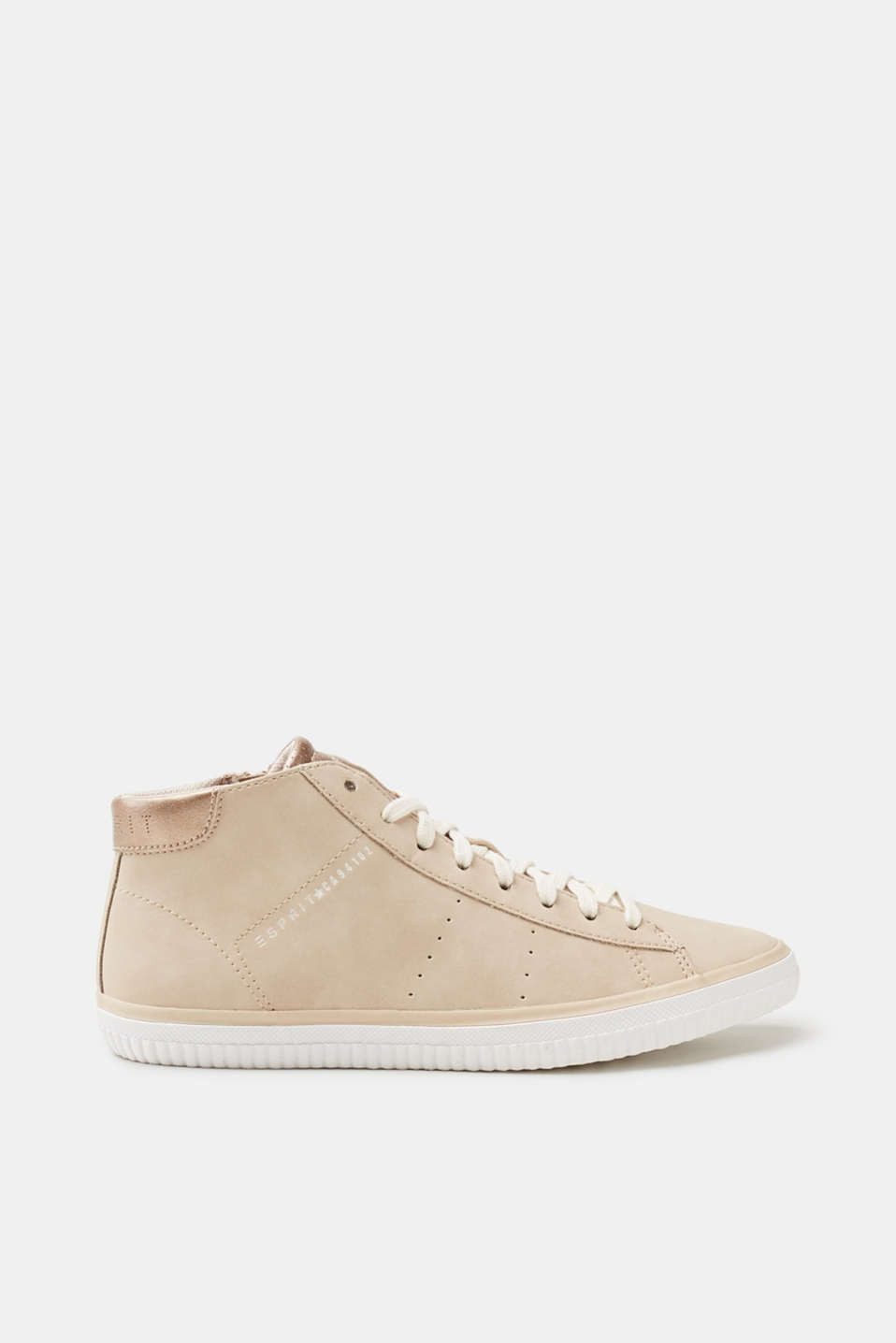 Esprit - Ankle-high trainers in faux leather