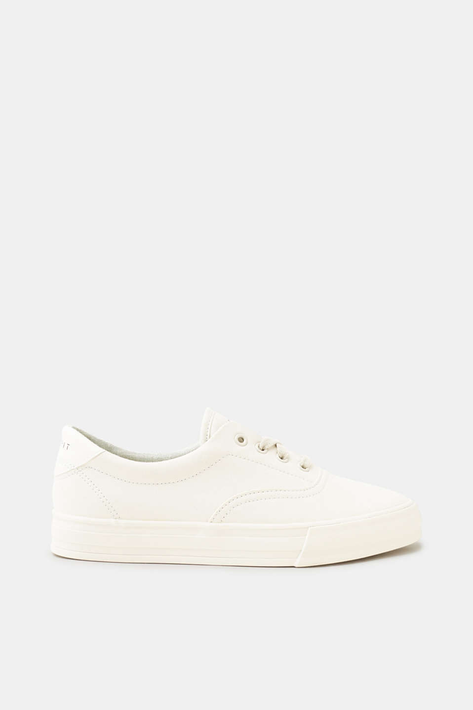 Esprit - Urban lace-up trainers with a glittery finish