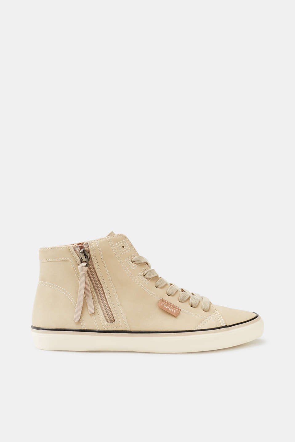 Esprit - Basic trainers in faux leather