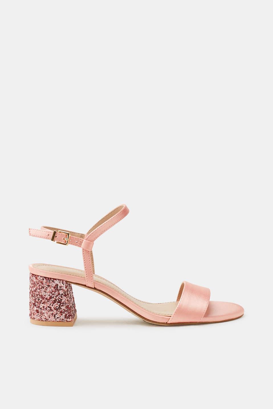 Sandales Avec Beige Paillettes Scintillantes Pour Les Femmes Esprit ApGPdZn