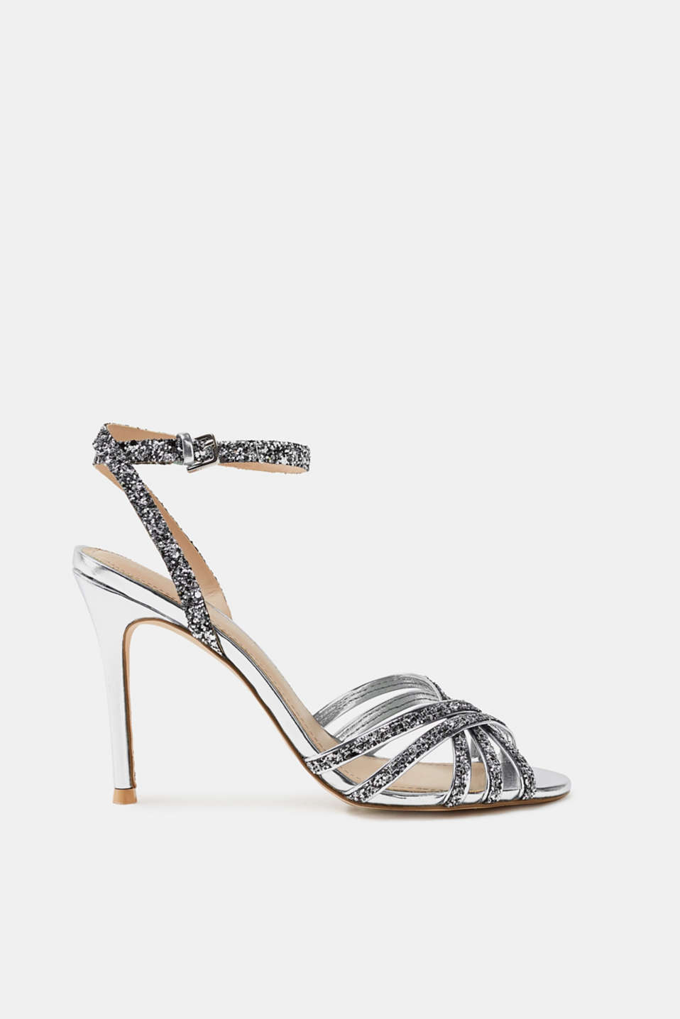 Esprit - Sandals with sparkling glitter
