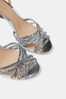 Sandales Avec Rose Paillettes Scintillantes Pour Les Femmes Esprit gQ7XCguGN