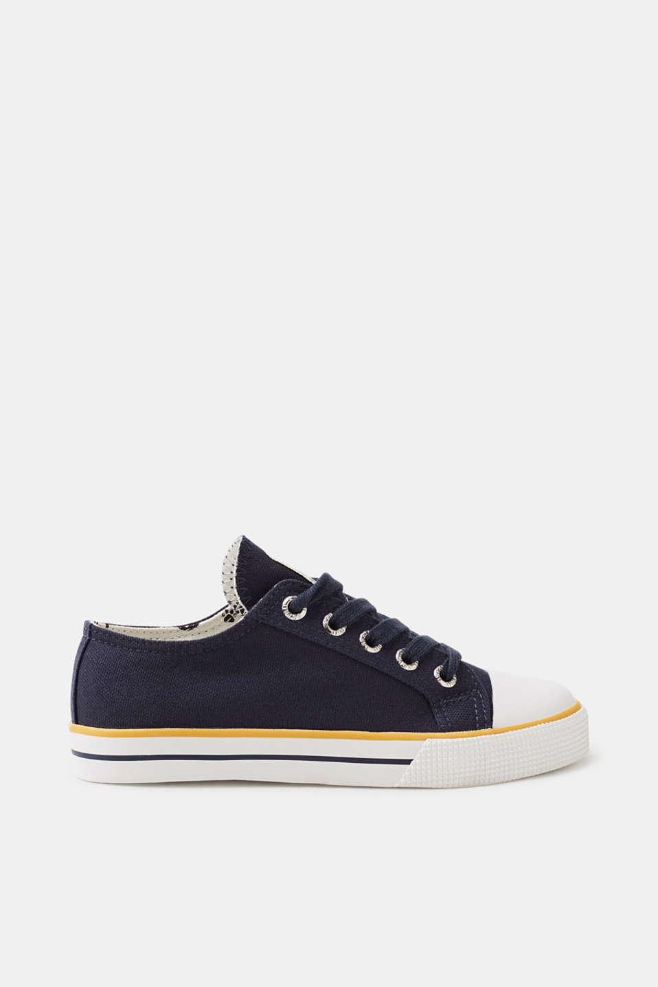 Esprit RetroSneaker aus BaumwollCanvas für Jungen Größe 37 Navy ...