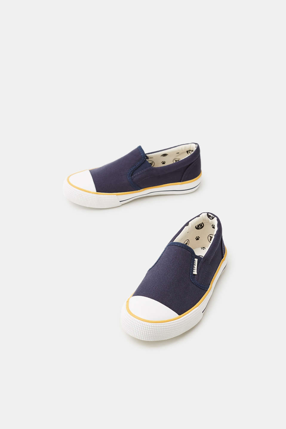 Slip On-Sneaker aus Baumwoll-Canvas