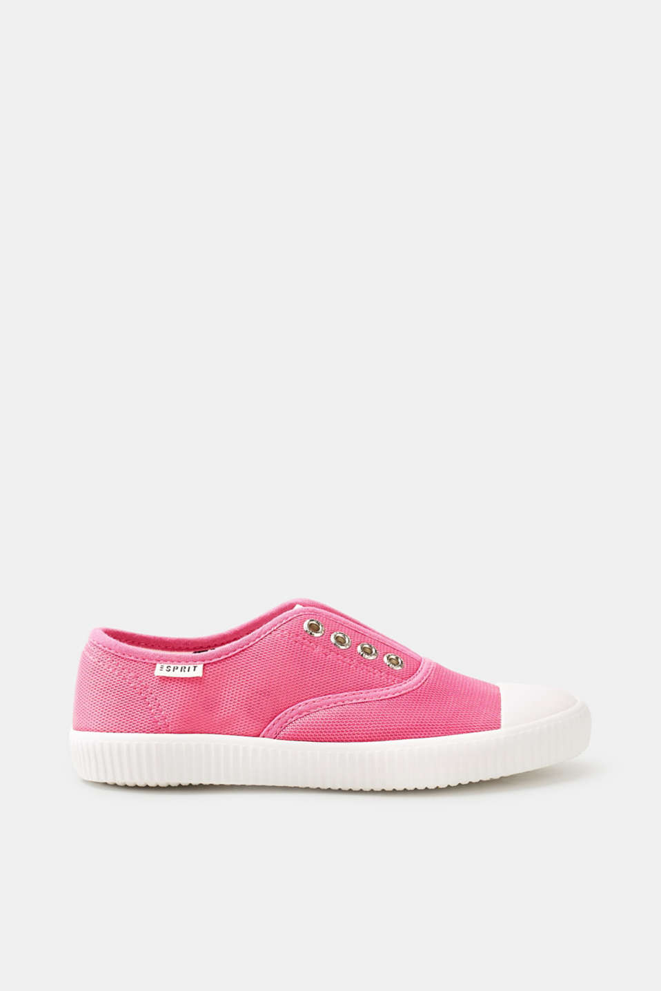 Esprit - Slip on-sneakers af high tech-materiale
