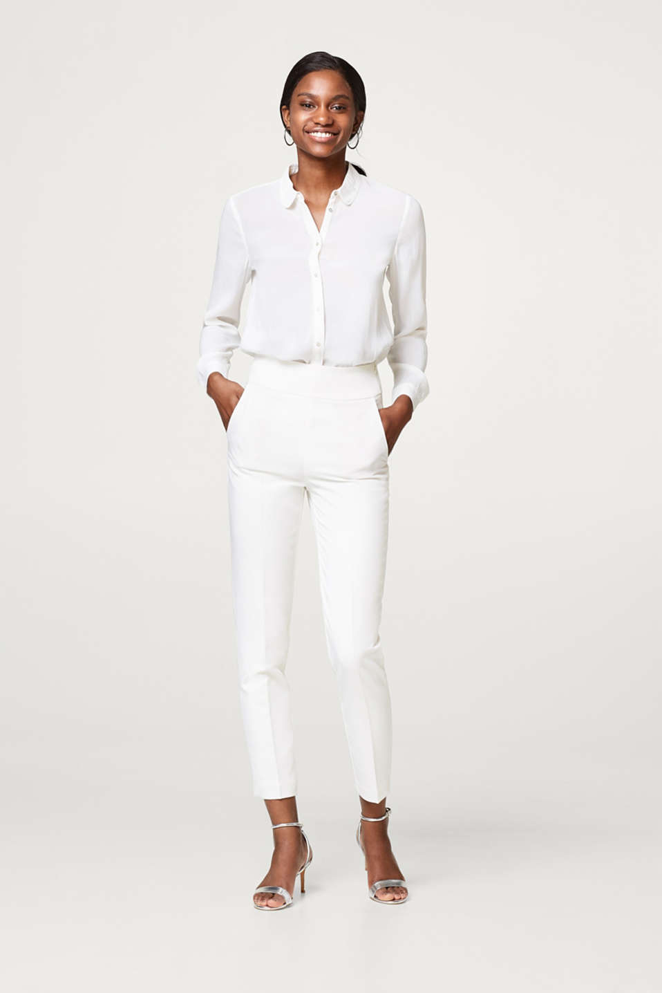 Esprit - WEDDING mix + match crêpe trousers