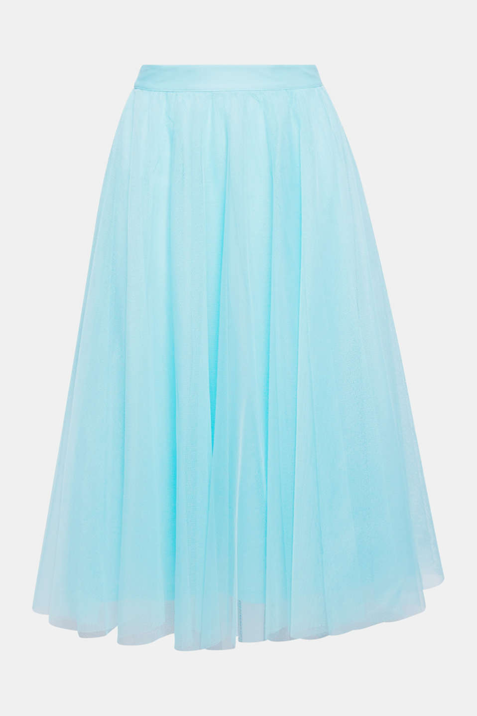 Swing into spring: flared tulle skirt in a stylish midi length!
