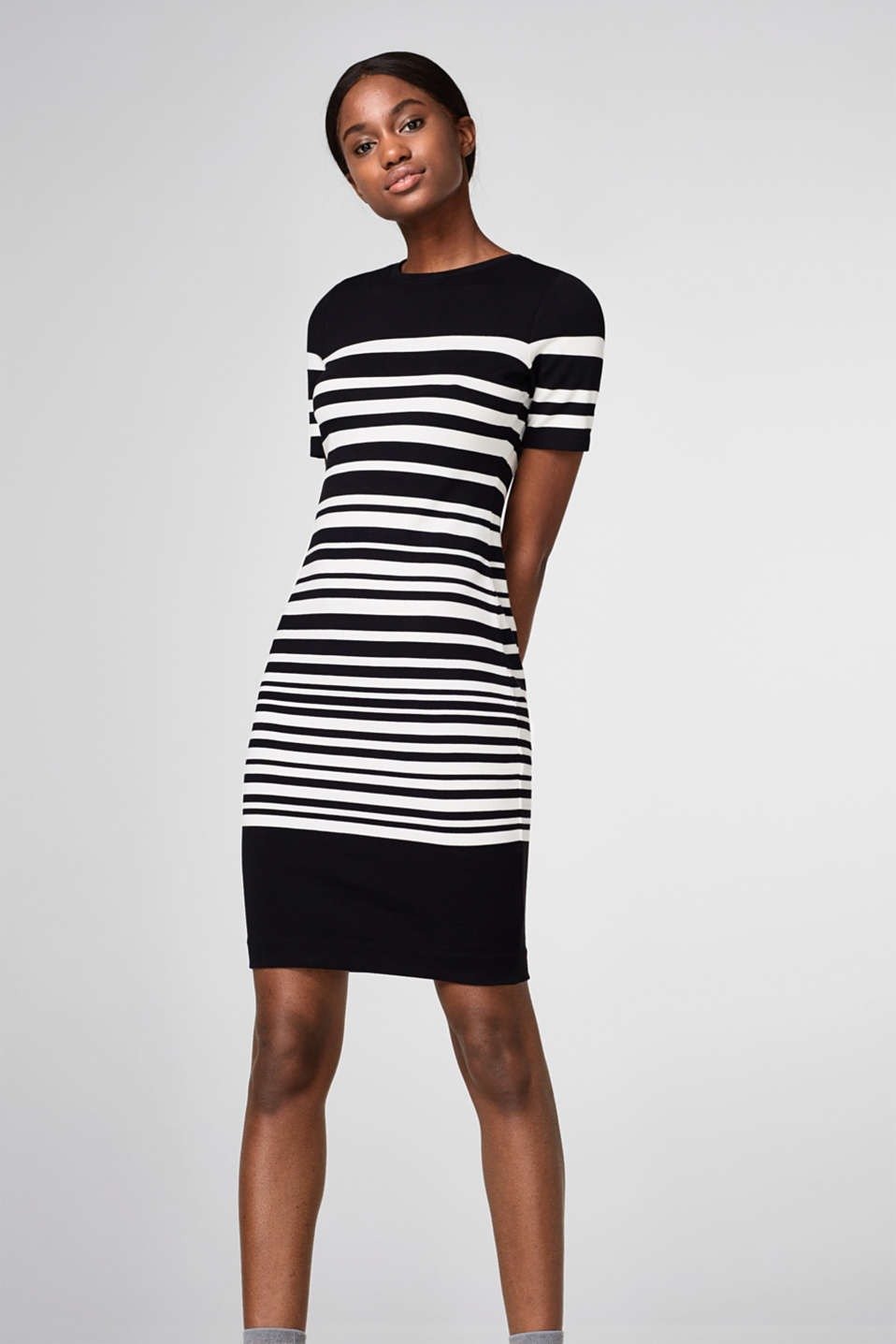 Esprit - striped dress