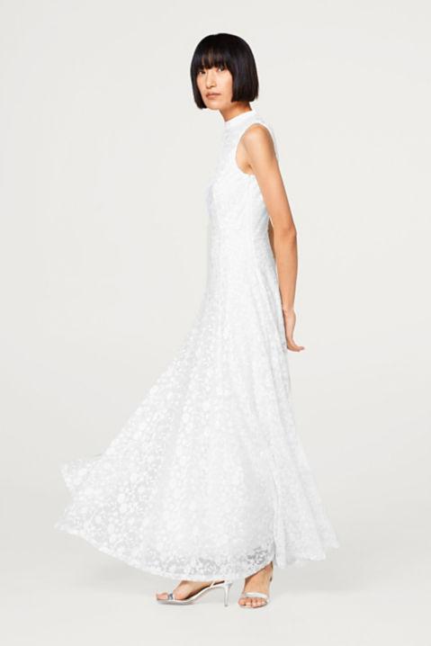 Esprit - Brautkleid mit Blumen-Stickereien im Online Shop kaufen