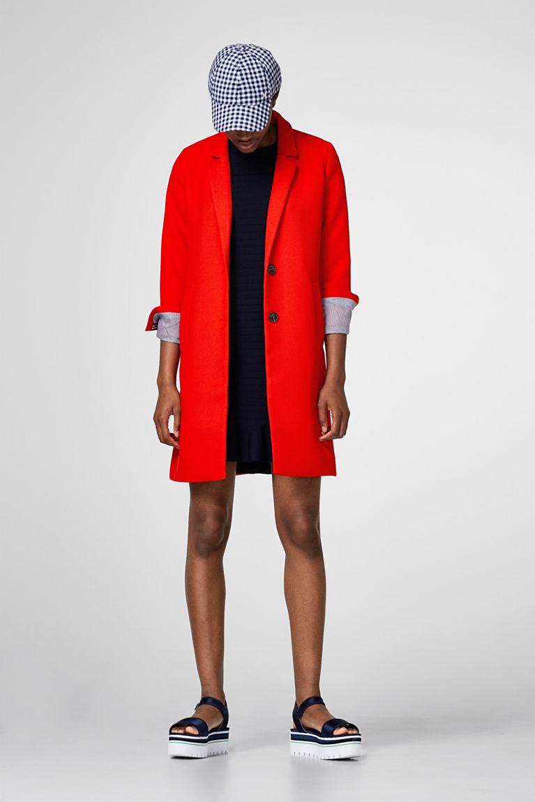 Kleid aus strukturiertem Premium-Feinstrick