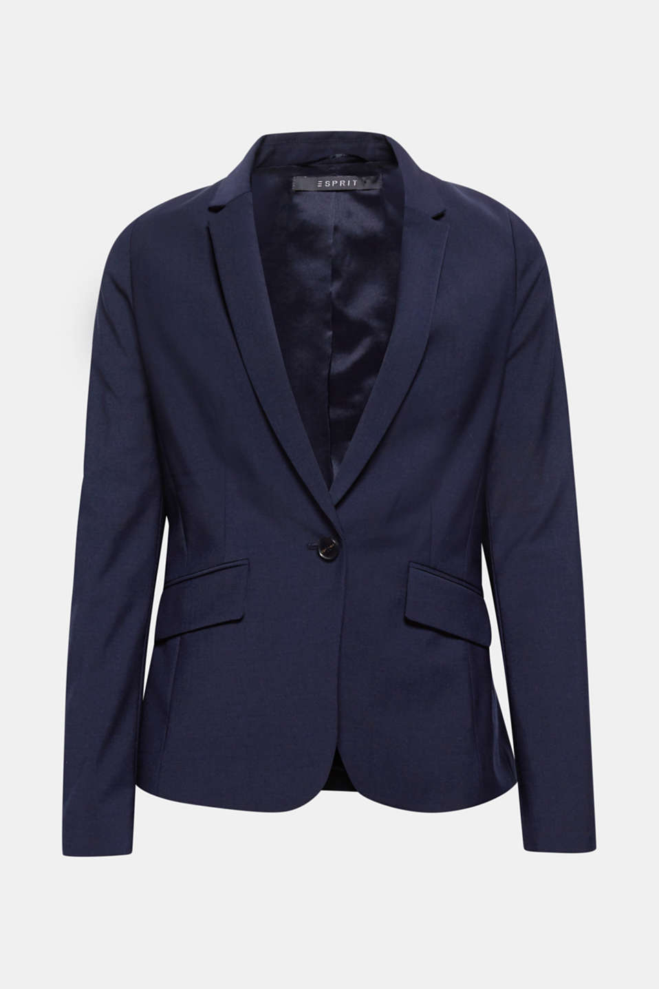 Move freely the way you like and feel great and well dressed in this bi-stretch blazer!