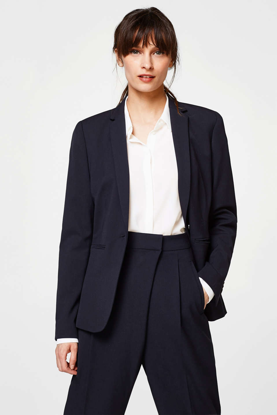 Esprit - Blazer PURE BUSINESS Mix+Match