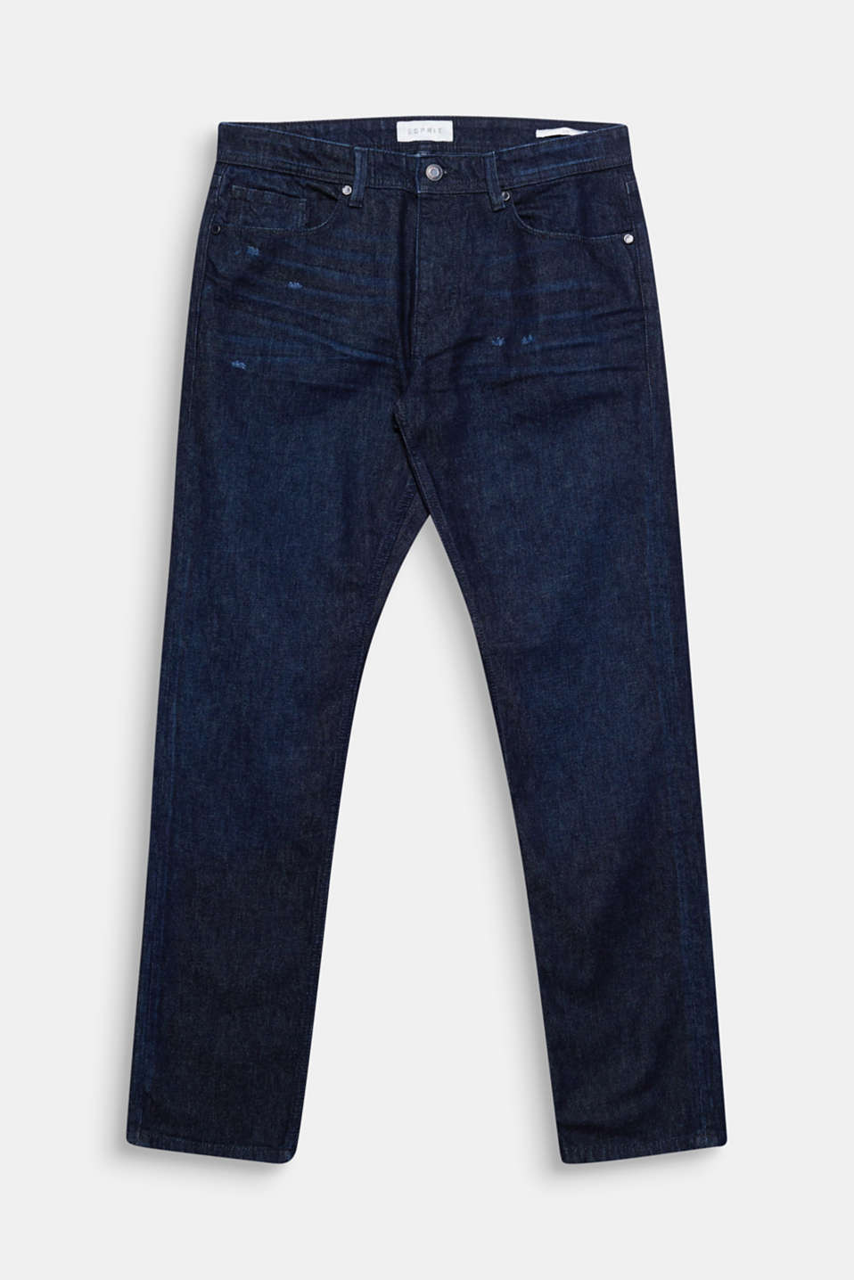 We love denim! These melange jeans wow with slight vintage effects.