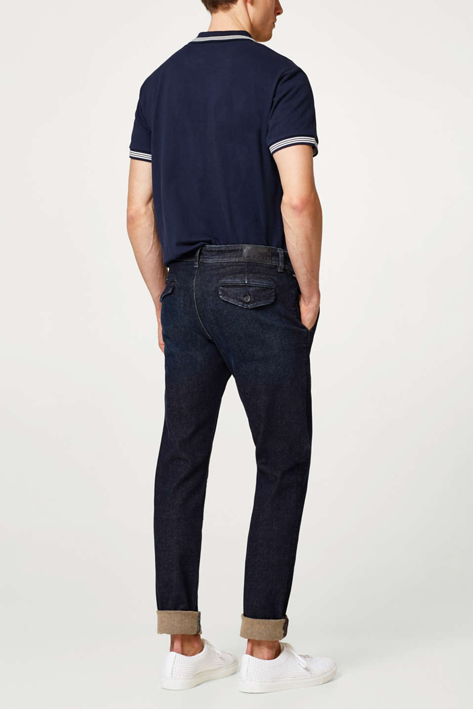 Super-Stretch-Jeans aus Organic Cotton