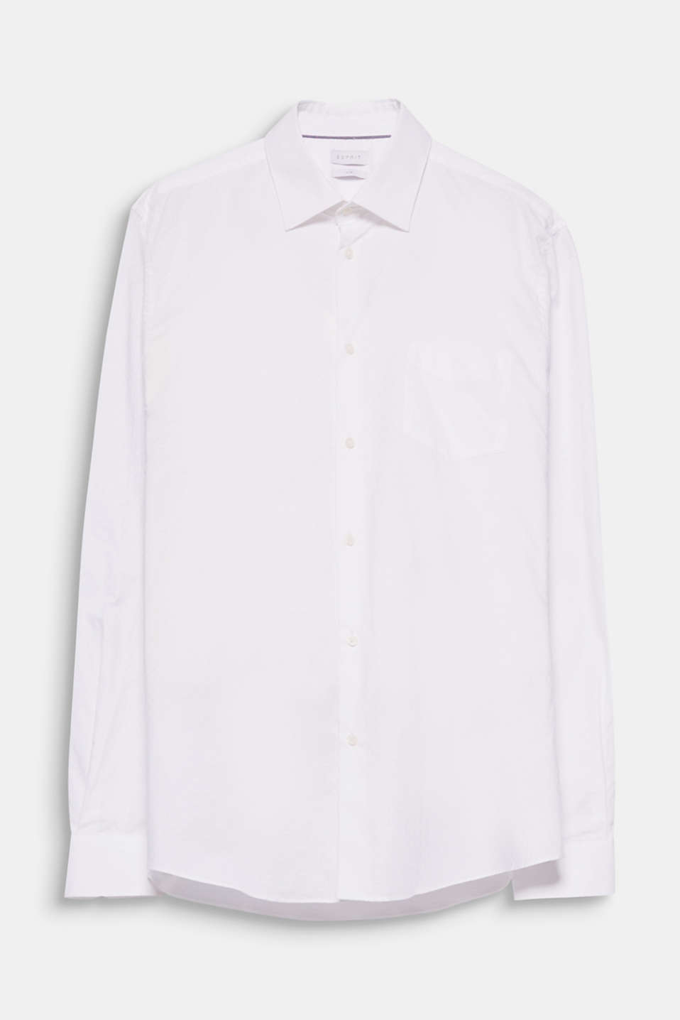 This business shirt in pure cotton offers a high level of comfort thanks to the mechanical stretch.