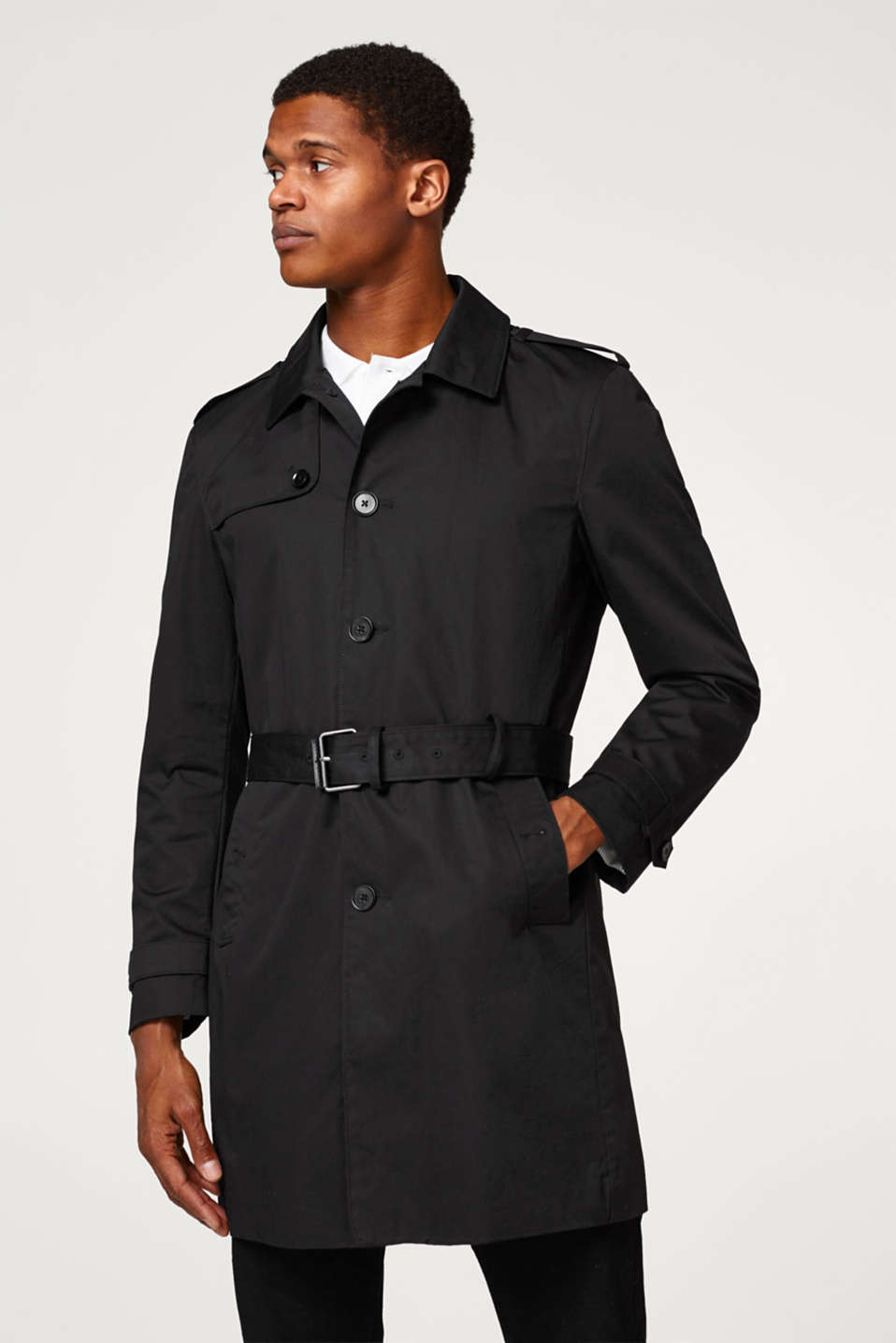 Esprit - Premium 100% cotton trench coat
