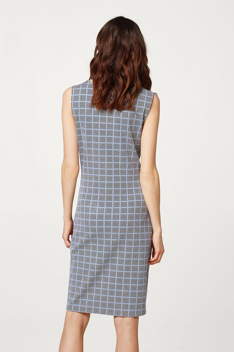 Jersey-Stretch-Kleid mit Drapé-Effekt