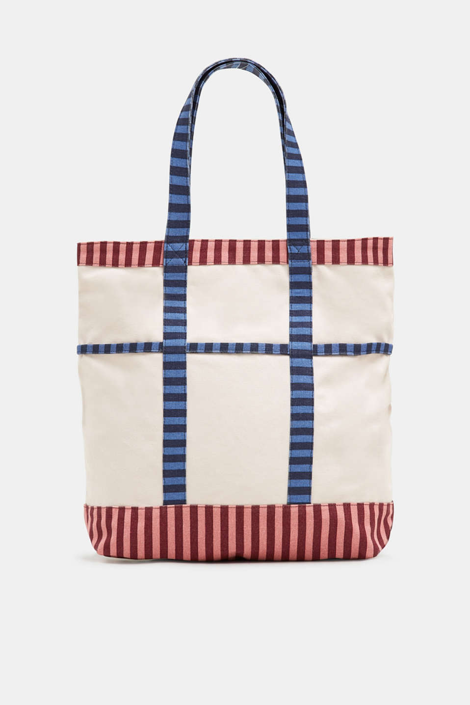 edc - XL-Shopper aus Canvas, 100% Baumwolle