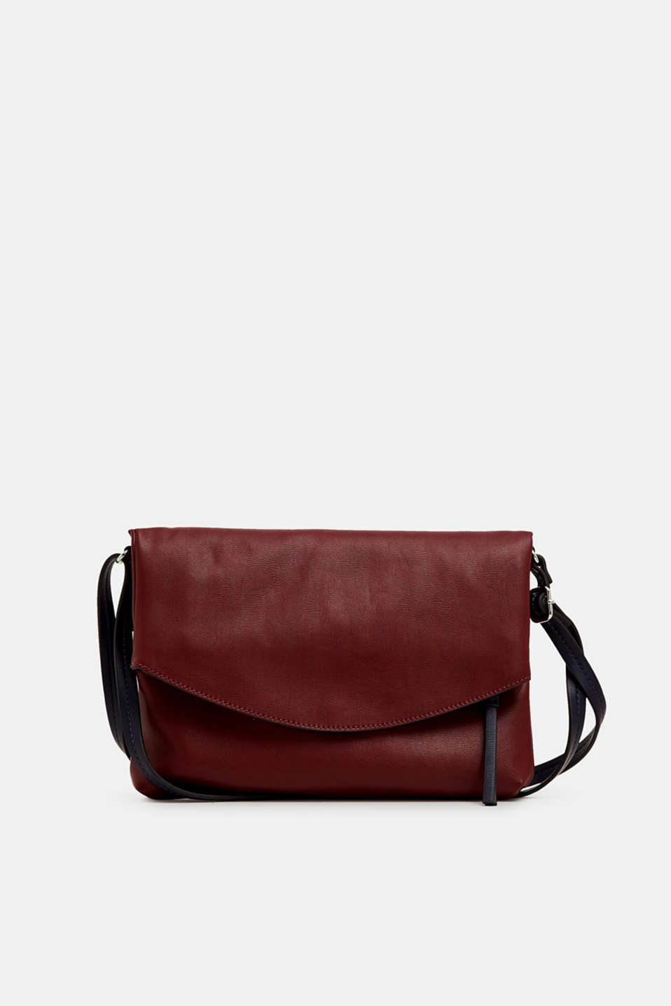 edc - Flap Bag in Leder-Optik