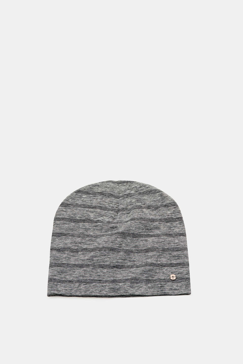 edc - Striped jersey beanie