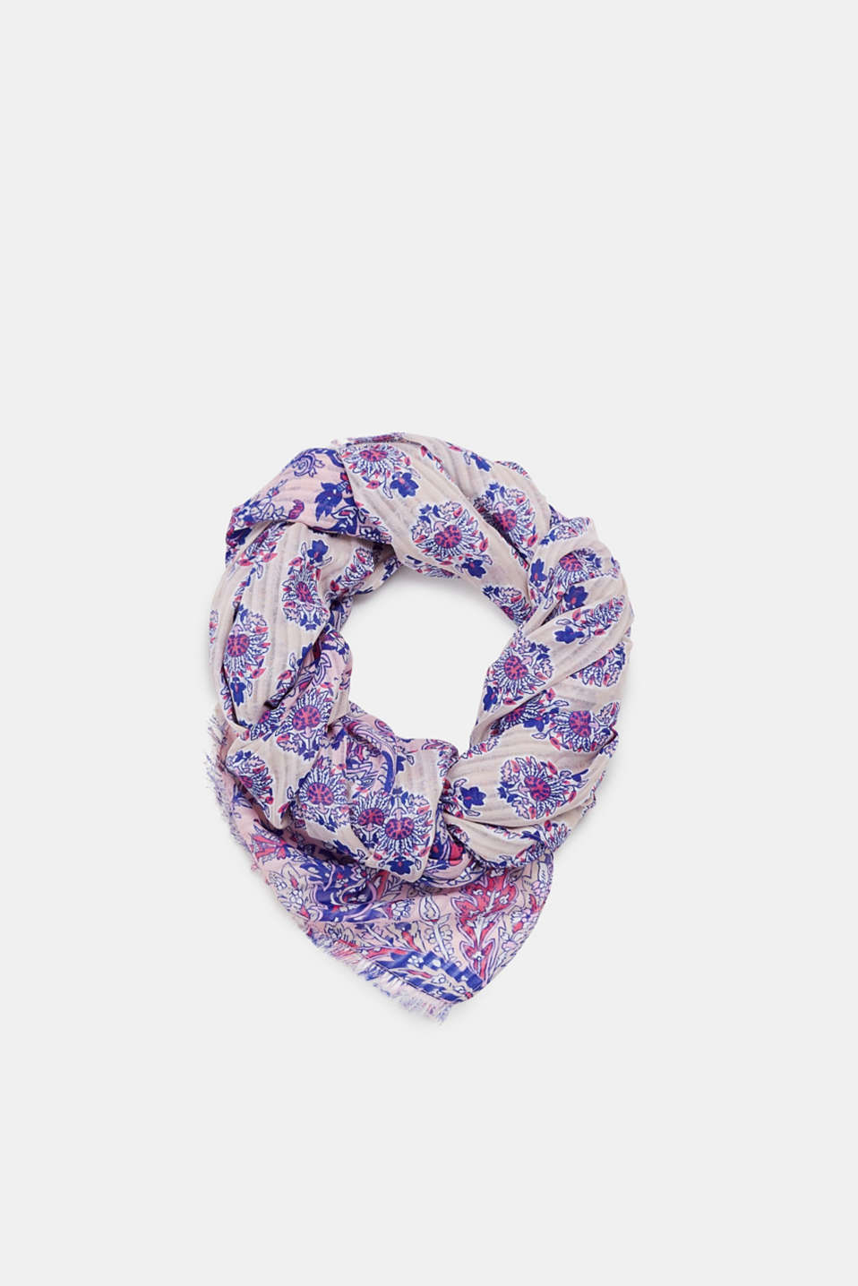 edc - Scarf with a floral pattern