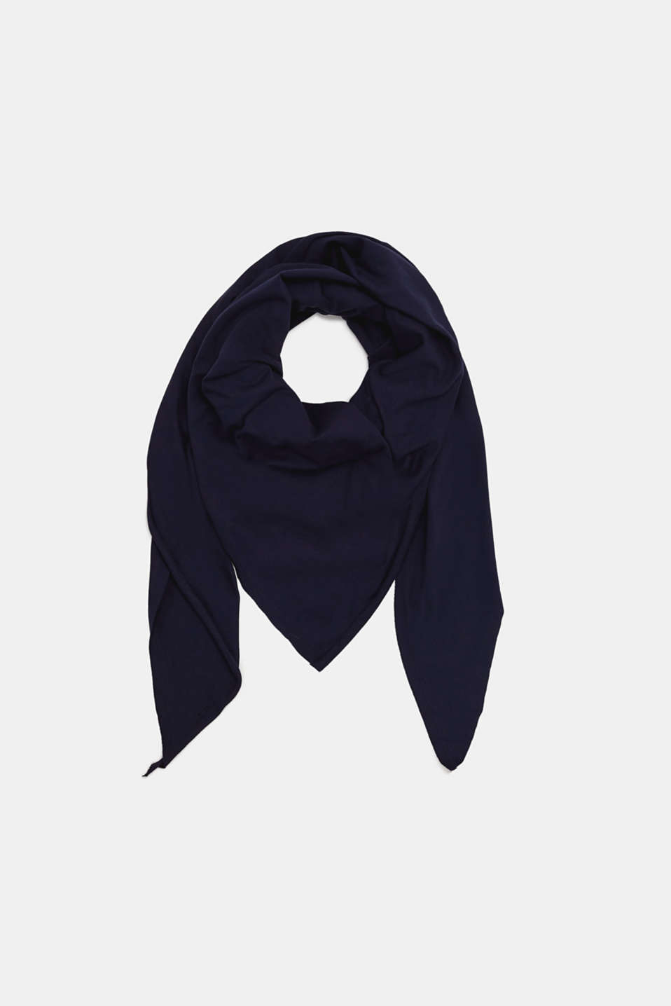 edc - Triangle scarf in stretch cotton