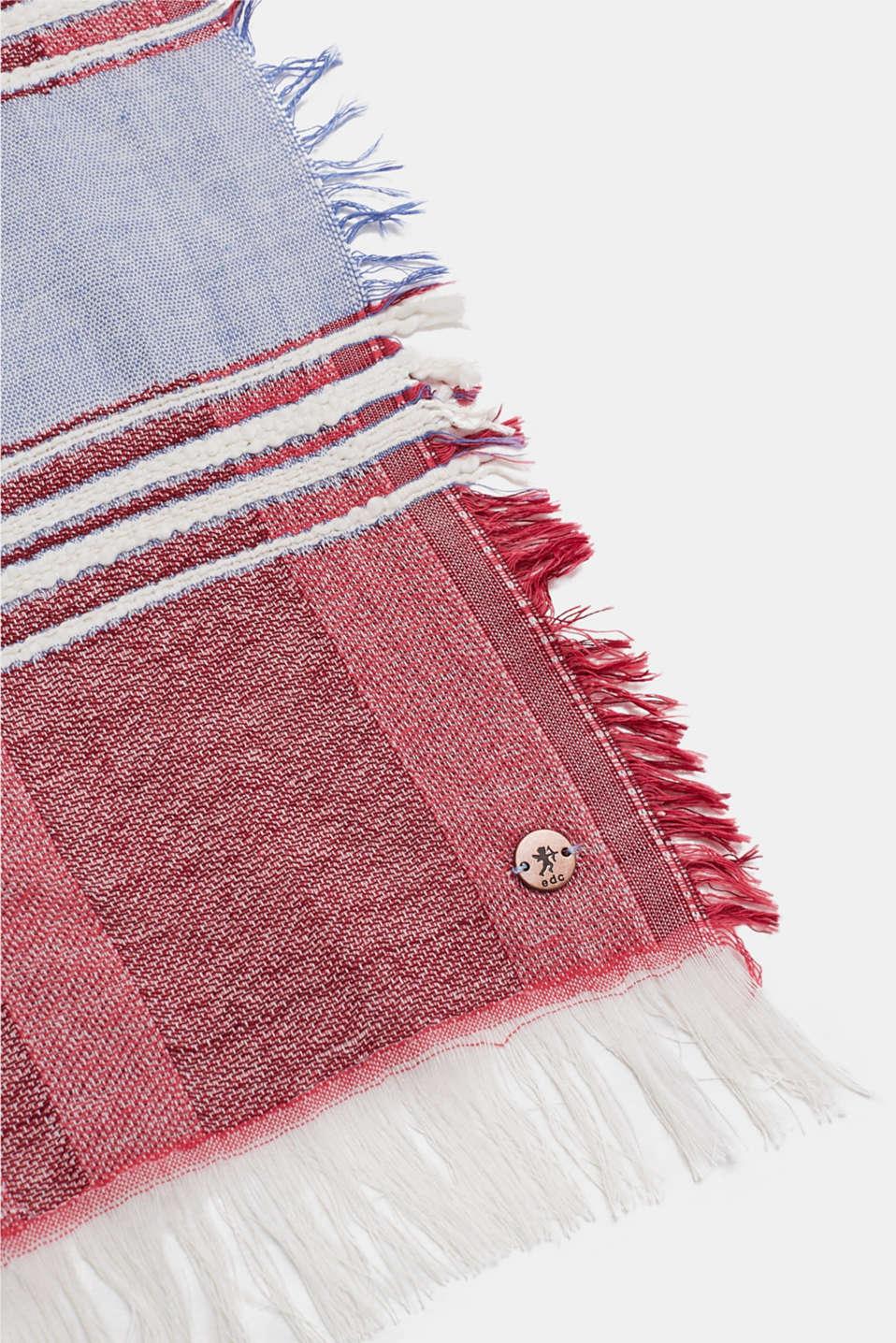 Shawls/Scarves, BLUE, detail image number 2