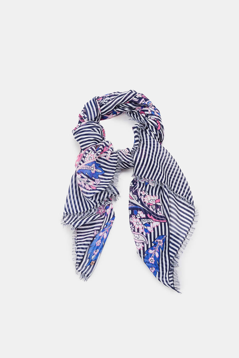 edc - Oversized scarf with a print